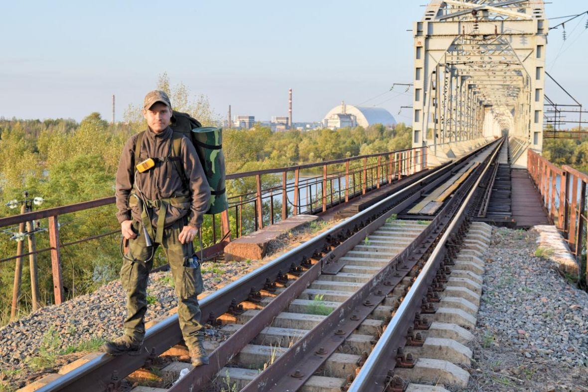Spędził miesiąc w Prypeci. Nam opowiedział, jak mieszka się w czarnobylskiej zonie