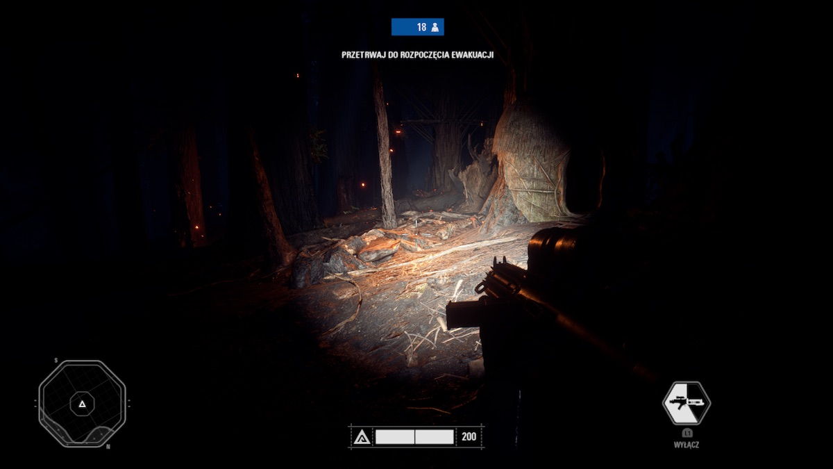 star wars battlefront 2 night on endor polowanie na ewoki 7