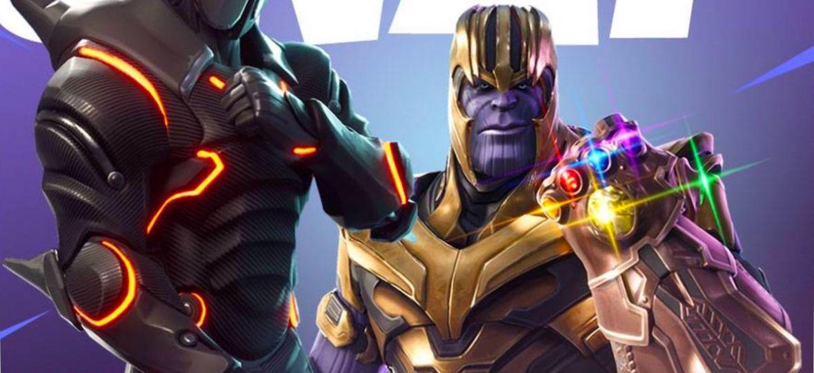 Thanos zawita do Fortnite. Najpopularniejsza gra świata łączy siły z najbardziej kasowym filmem Marvela