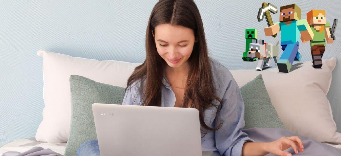 Dotykowy ekran i stylowa obudowa za 1299 zł. Nowy laptop Kiano jest wprost stworzony na komunijny prezent