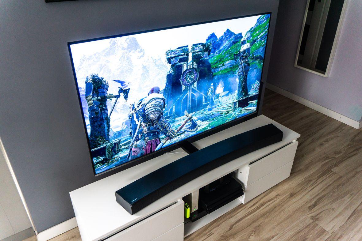 Telewizor NU8002, czyli sprawdziłem, co Samsung przygotował dla graczy na 2018 rok