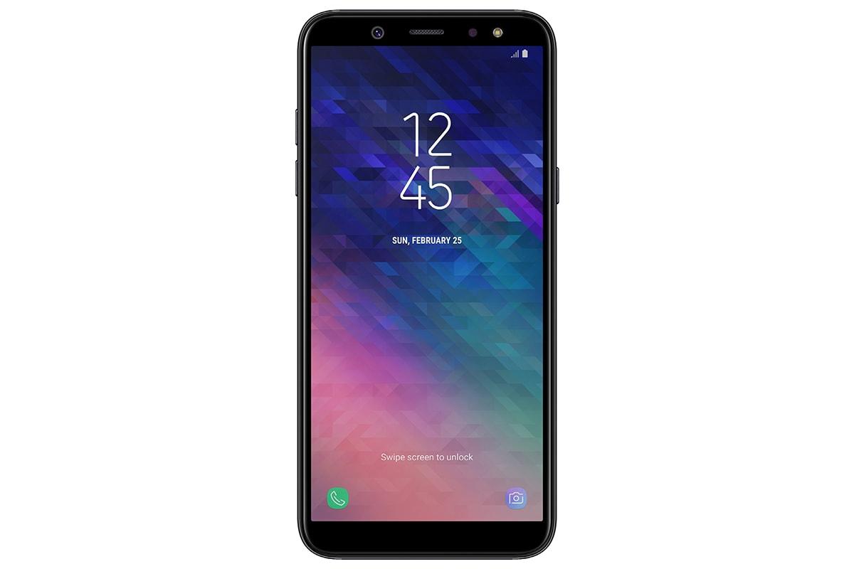 Samsung Galaxy A6 front