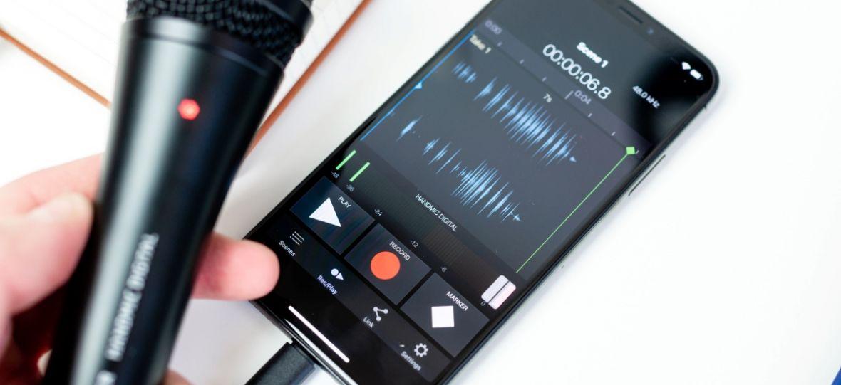 Jak nagrać profesjonalny dźwięk smartfonem i dlaczego powinien nim być iPhone. Poradnik krok po kroku