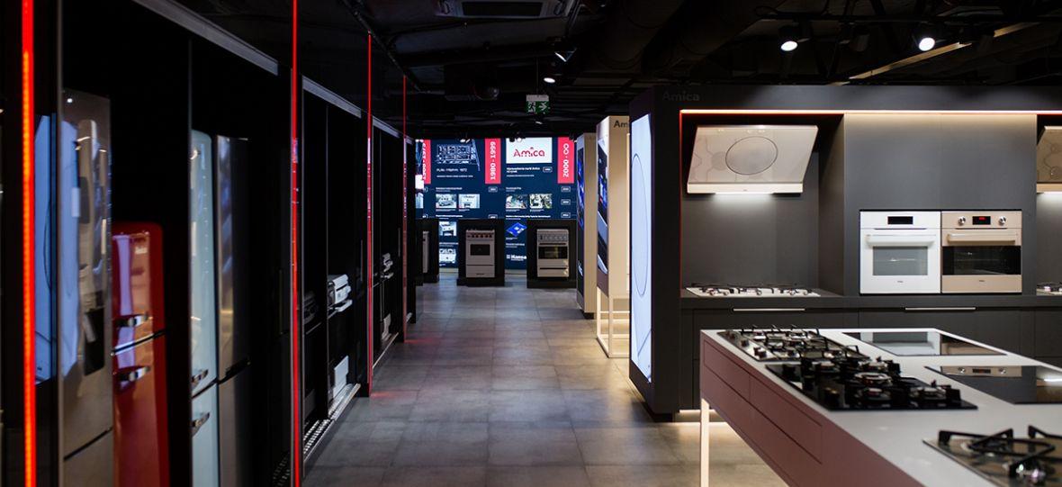 Amica otworzyła showroom w Poznaniu. To ma być coś więcej niż salon z produktami firmy