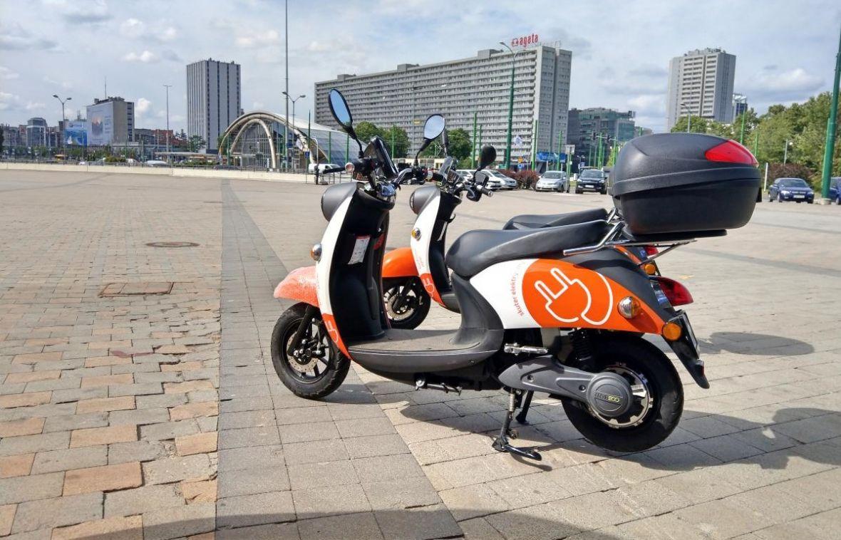 Miejskie skutery elektryczne na minuty. Jeden Ślad już w Katowicach