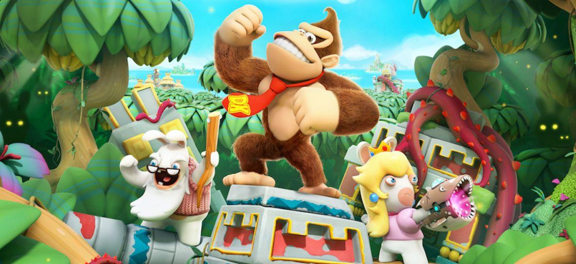 Kultowy Donkey Kong trafia do gry Ubisoftu. Graliśmy już w dodatek do Mario + Rabbids Kingdom Battle