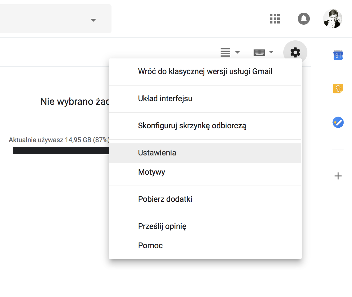 nowy gmail offline jak wlaczyc