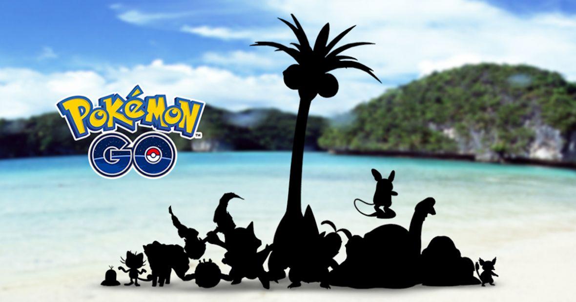 Zupełnie nowe stworki w Pokemon GO. Gatunki z Kanto doczekają się form Alola