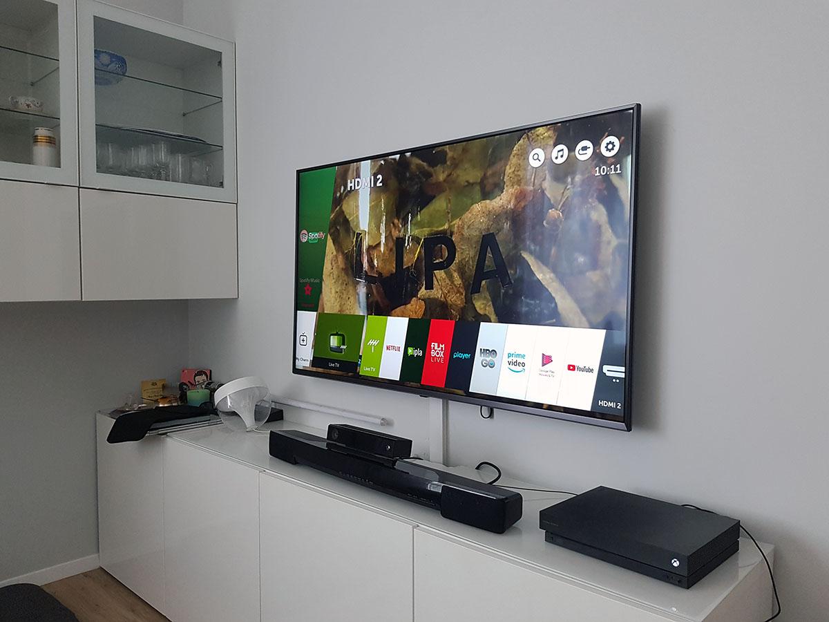 LG Super UHD SK8100 ThinQ recenzja