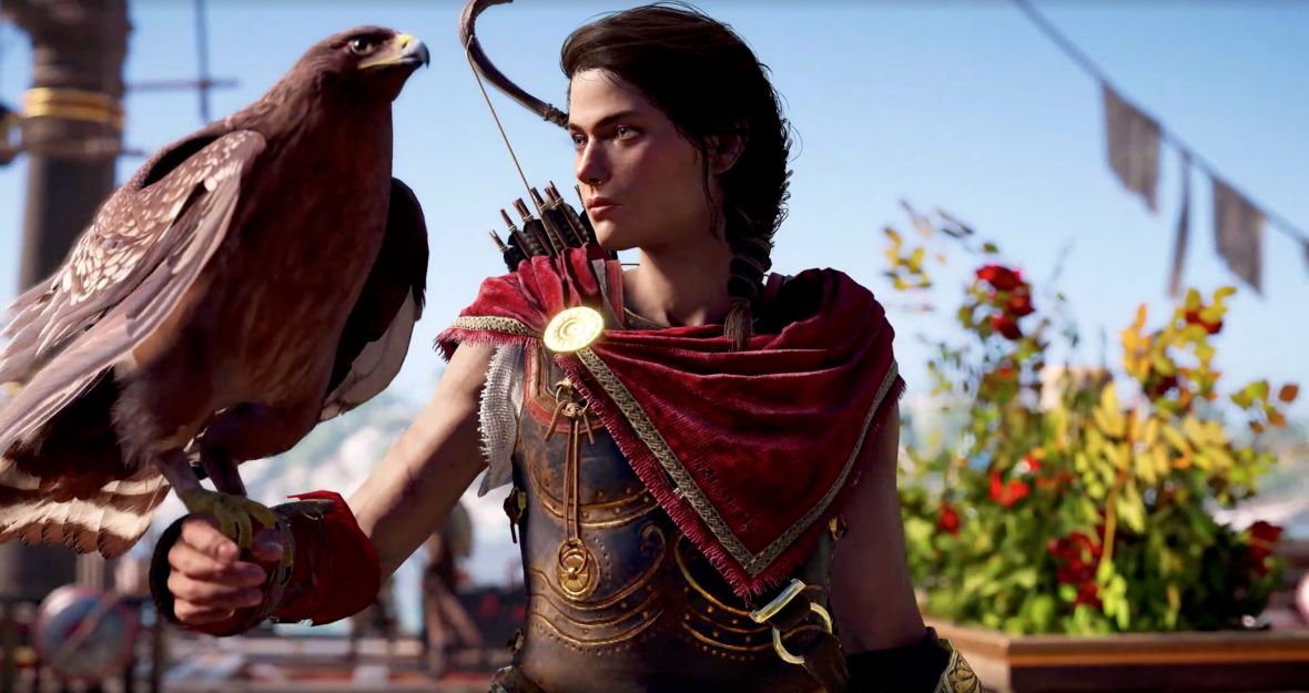 Assassin's Creed Odyssey oficjalnie! Oto zwiastun pokazujący głównego bohatera oraz… bohaterkę