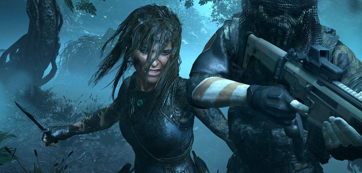 Lara jak Schwarzenegger w Predatorze. Shadow of the Tomb Raider postawi na wykorzystanie otoczenia