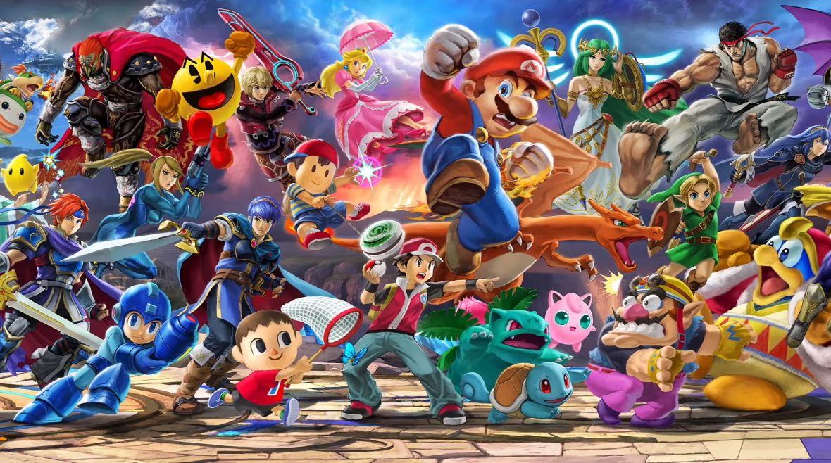 Największy crossover w historii gier? W Super Smash Bros. Ultimate jest 66 postaci