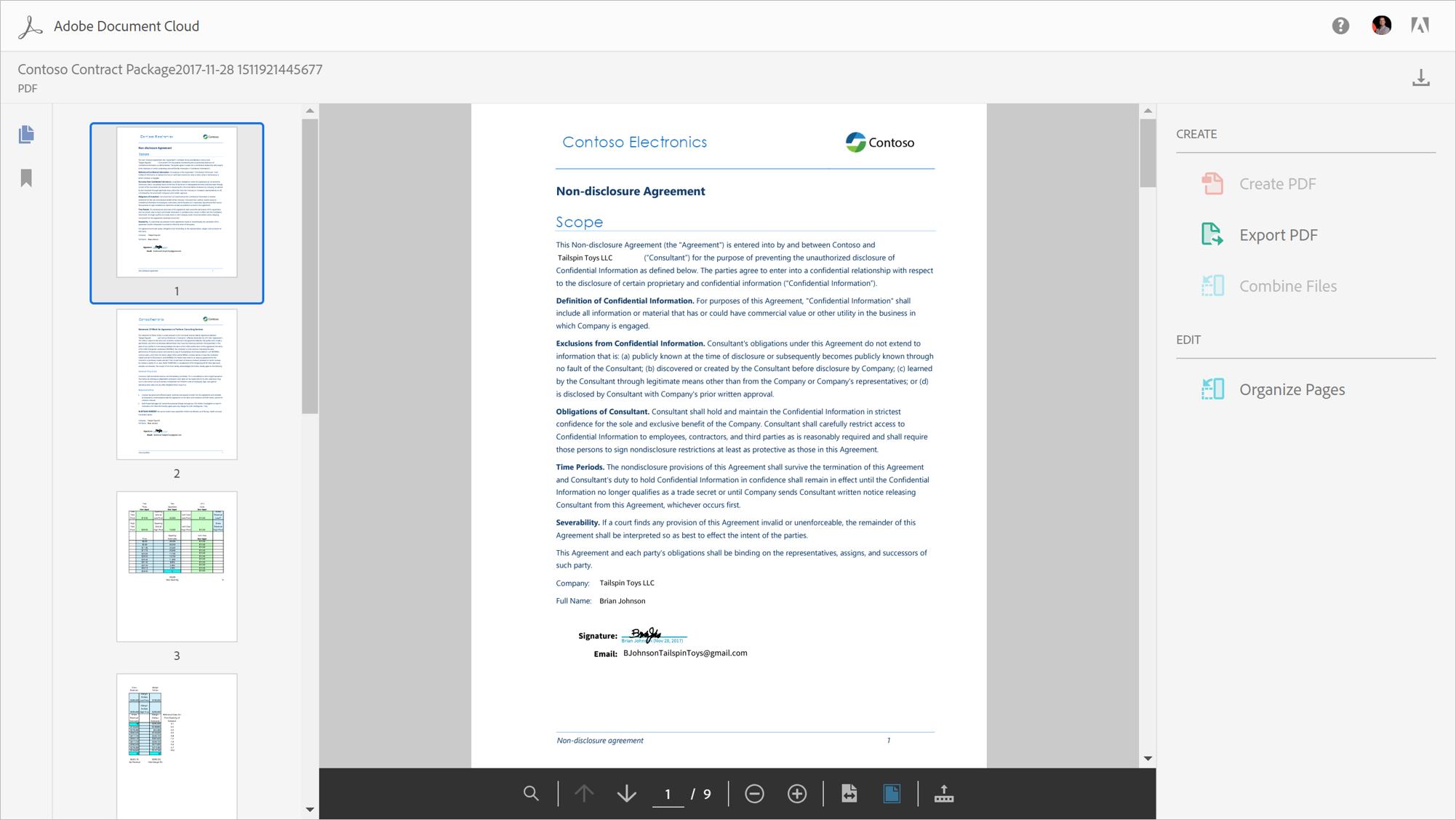 Adobe Document Cloud Office 365