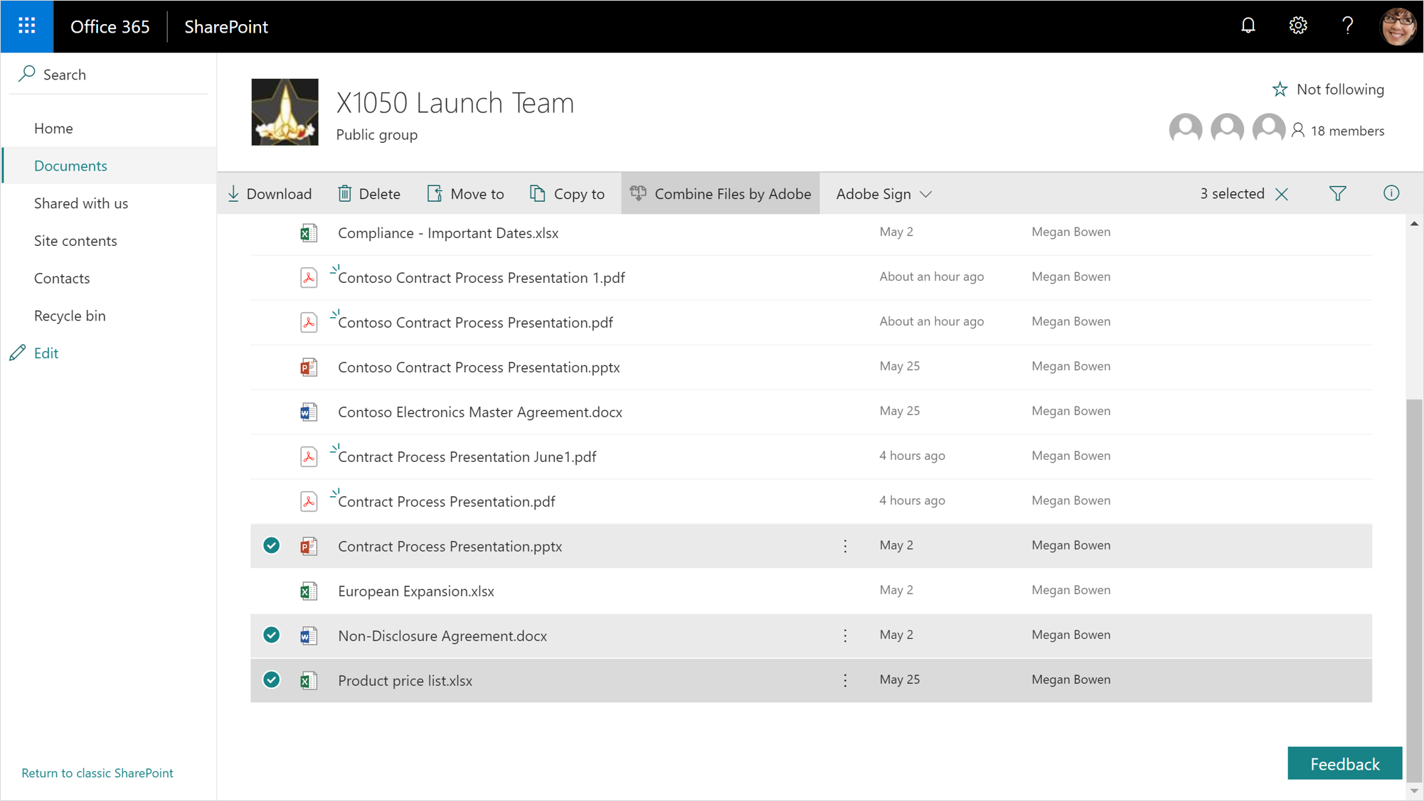 Adobe Document Cloud Office 365