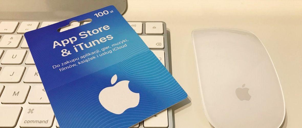 Karty podarunkowe Apple do App Store i iTunes – jak z nich korzystać?