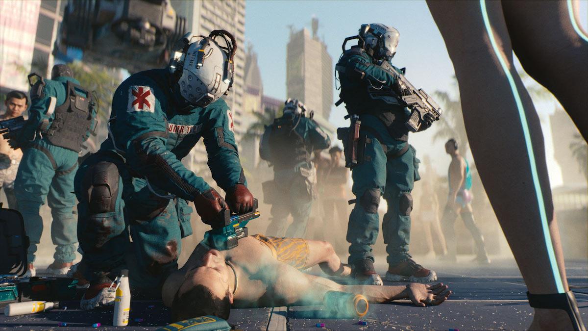 cyberpunk 2077 gameplay opinie pierwsza misja e3 2018 1