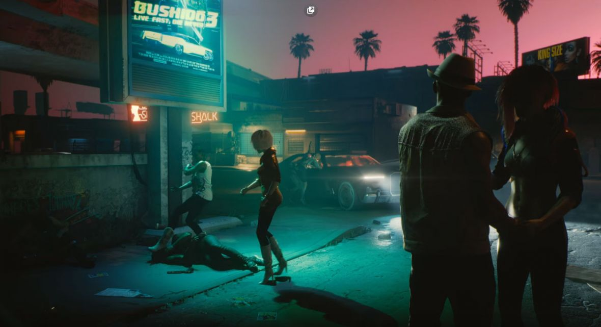 CD Projekt RED jak Tarantino. Vice City 2077 zapowiada się fenomenalnie. Polacy deweloperską elitą