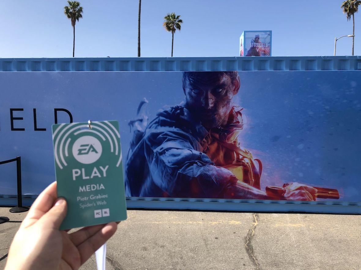 Do ręki dostałem nie karabin, tylko młotek. Battlefield V – pierwsze wrażenia Spider's Web z EA Play 2018