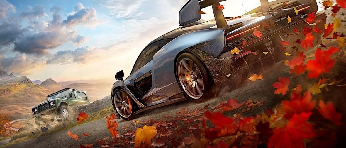 Porównano otwarty teren w Forza Horizon 4 z prawdziwym światem. Ależ ta gra się dobrze zapowiada