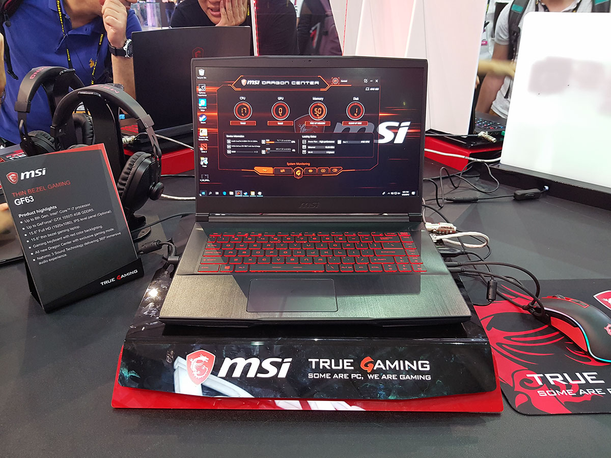 msi notebooki 2018