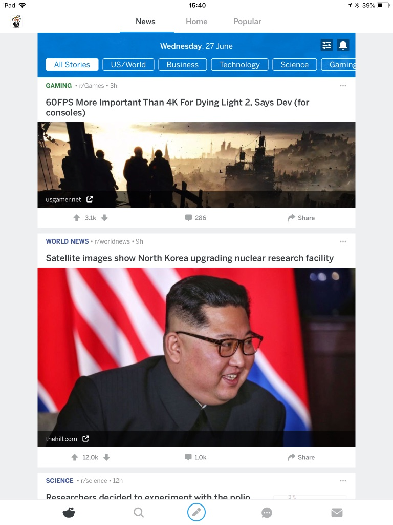Reddit News - nowa, świetna funkcja w aplikacji Reddita