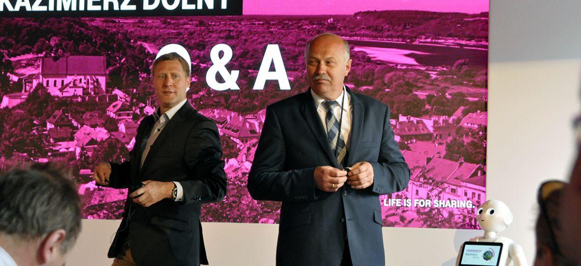 T-Mobile chce zmienić Kazimierz Dolny w modelowe inteligentne miasto