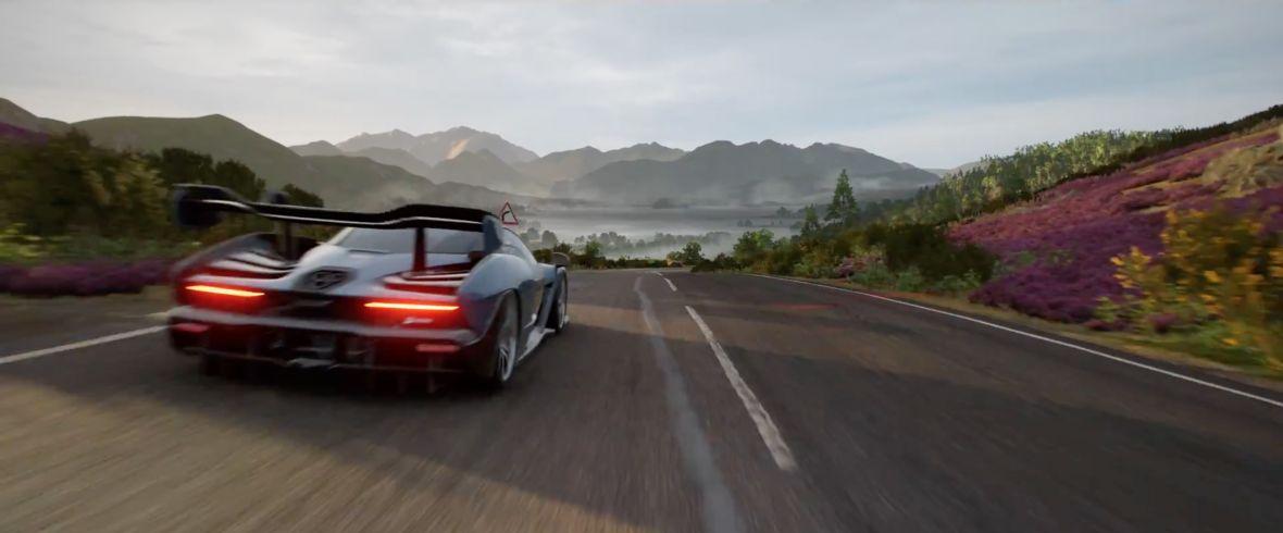 Jednak nie Japonia. Forza Horizon 4 zabierze nas na wyspy Starego Kontynentu i wygląda fenomenalnie