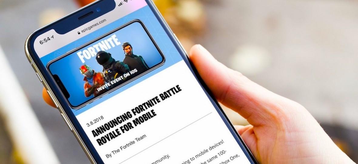 Fani Fortnite na iPhonie zostawiają twórcom 2 mln dol. przychodu. Dziennie