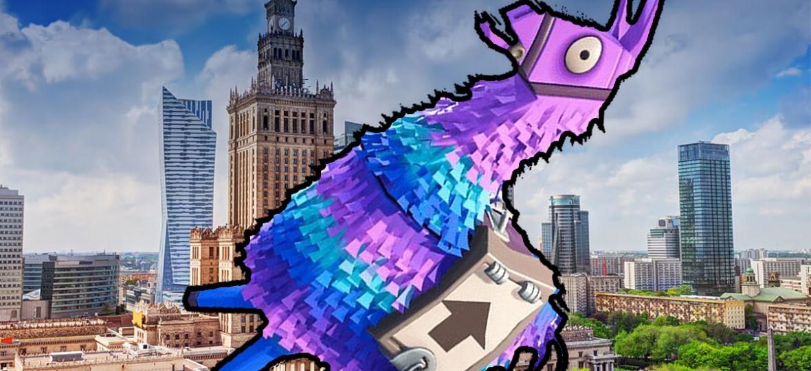 Ktokolwiek widział, ktokolwiek wie: oryginalne lamy z Fortnite pojawiają się i znikają w Warszawie