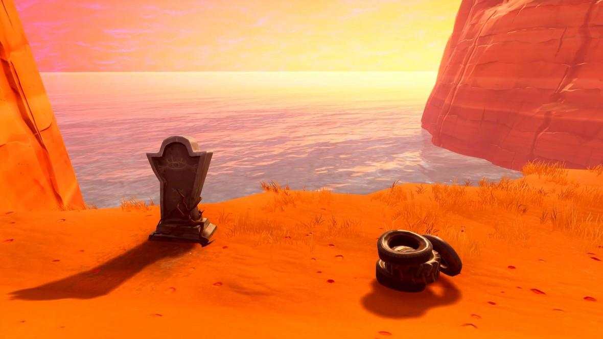 Twórcy Fortnite postawili graczowi nagrobek. Fani zorganizowali wybuchowy pogrzeb