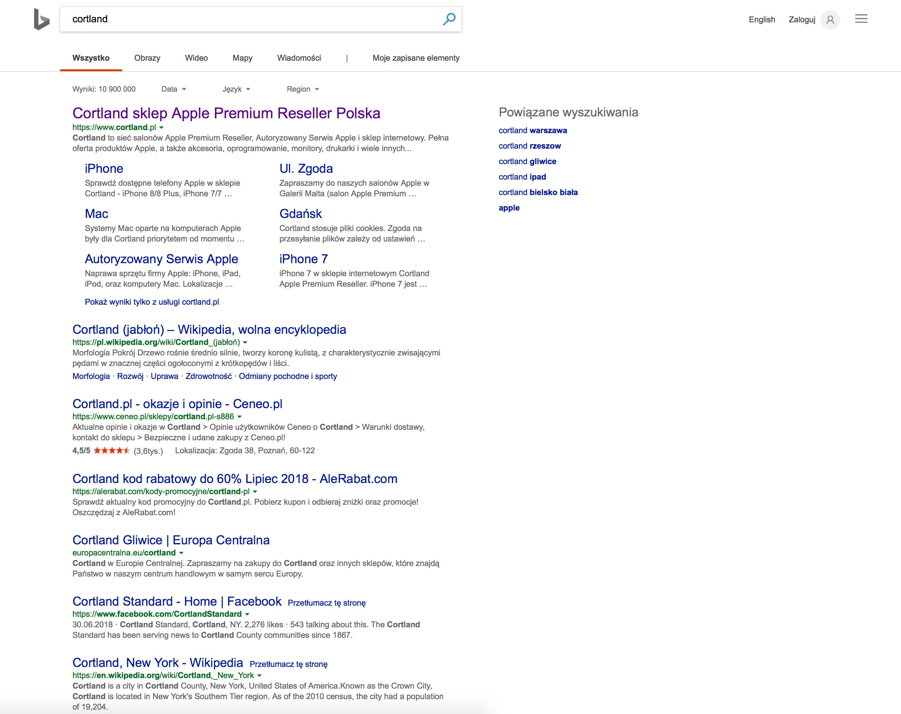 Bing czy Google - porównanie