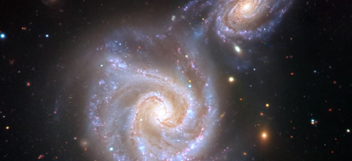 Mleko z kiełbasą – nasza galaktyka przetrwała potężną kolizję