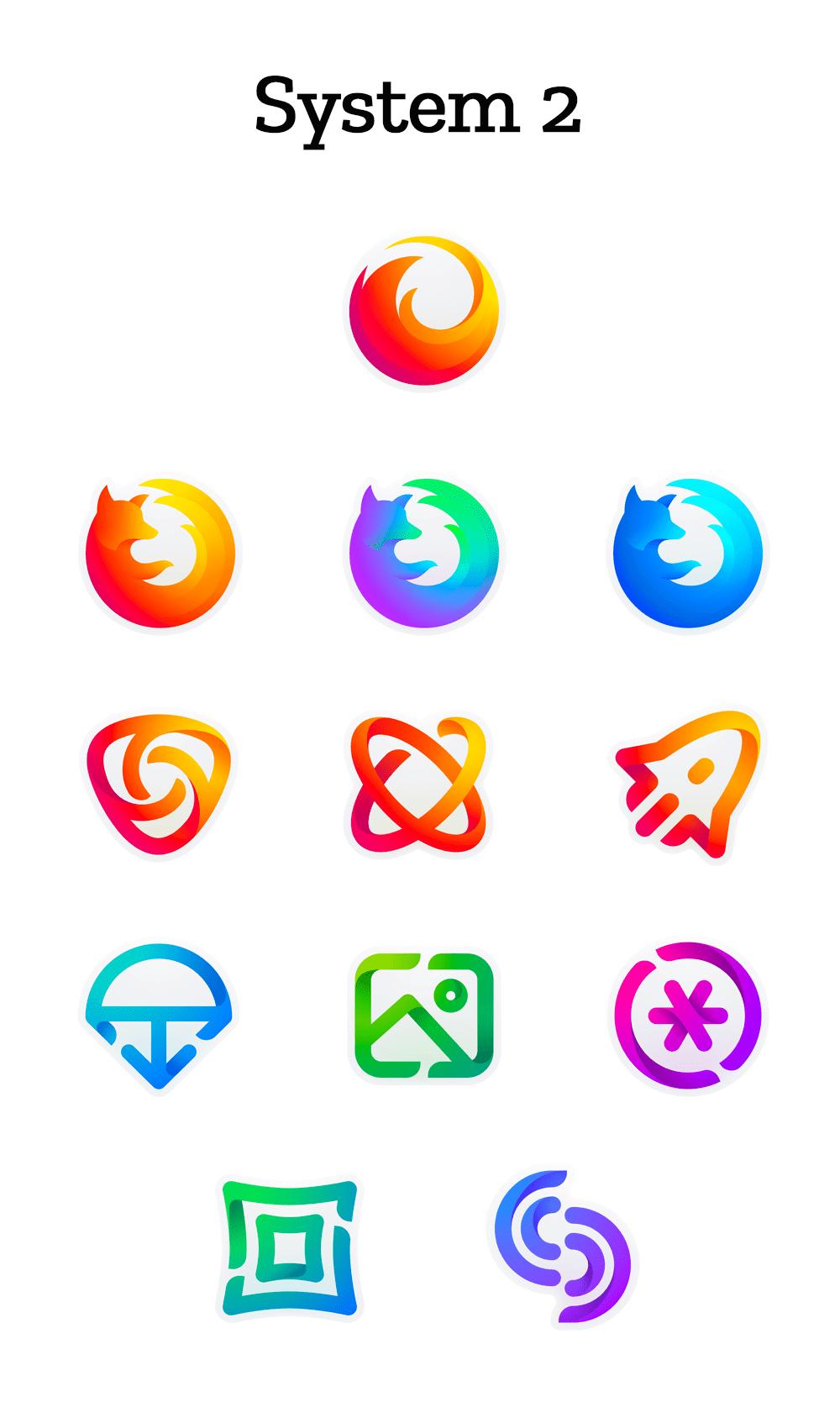 propozycje logo firefoksa