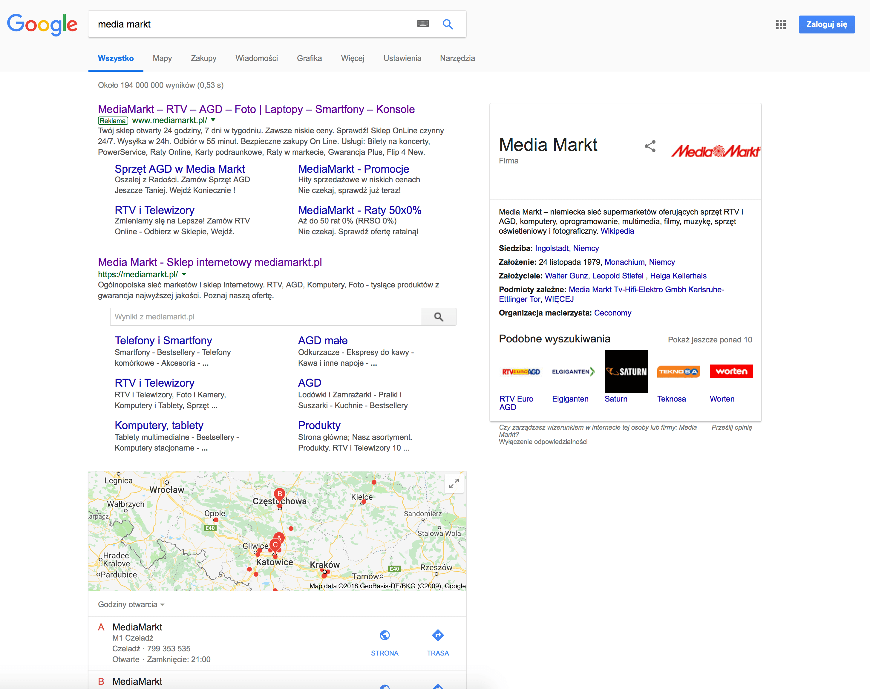 Google czy DuckDuckGo, Bing, Yahoo