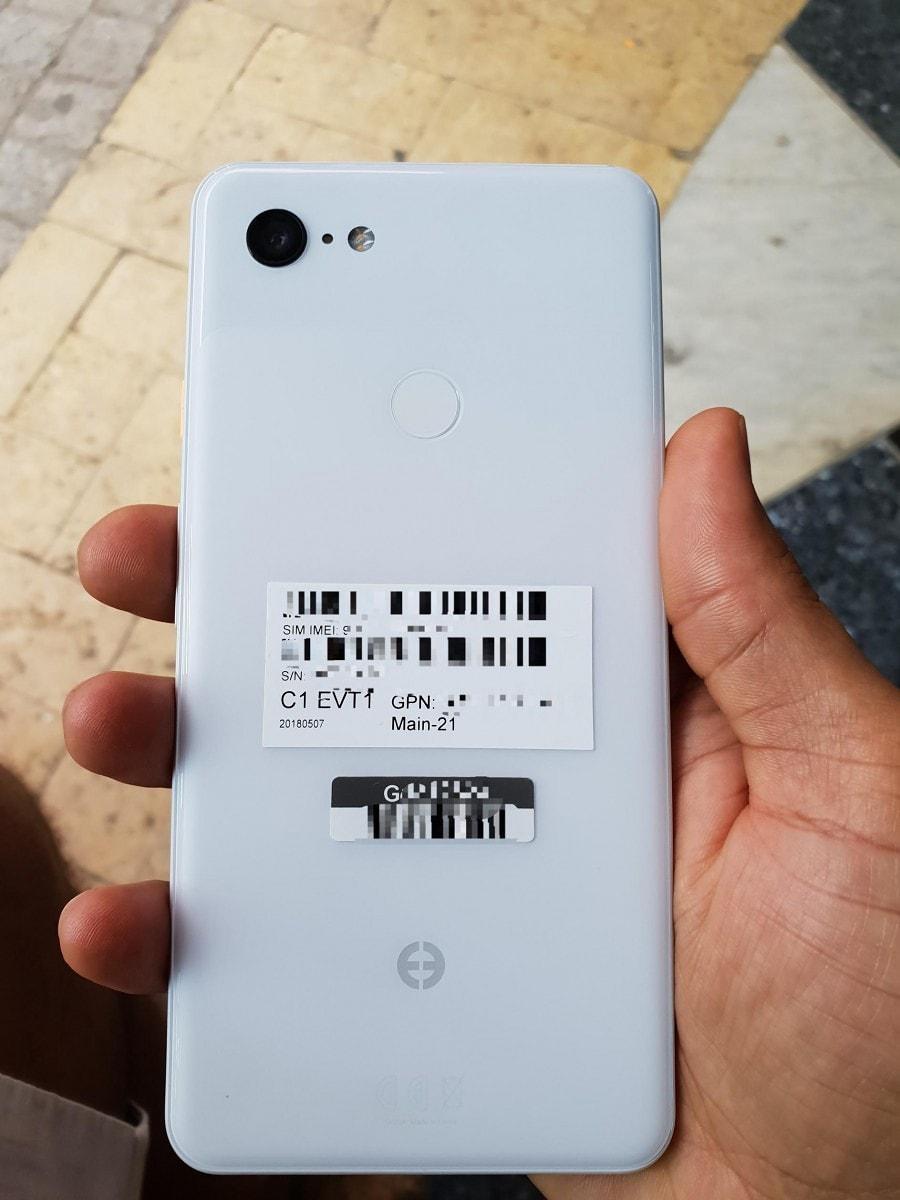 Google Pixel 3 XL na pierwszych zdjęciach