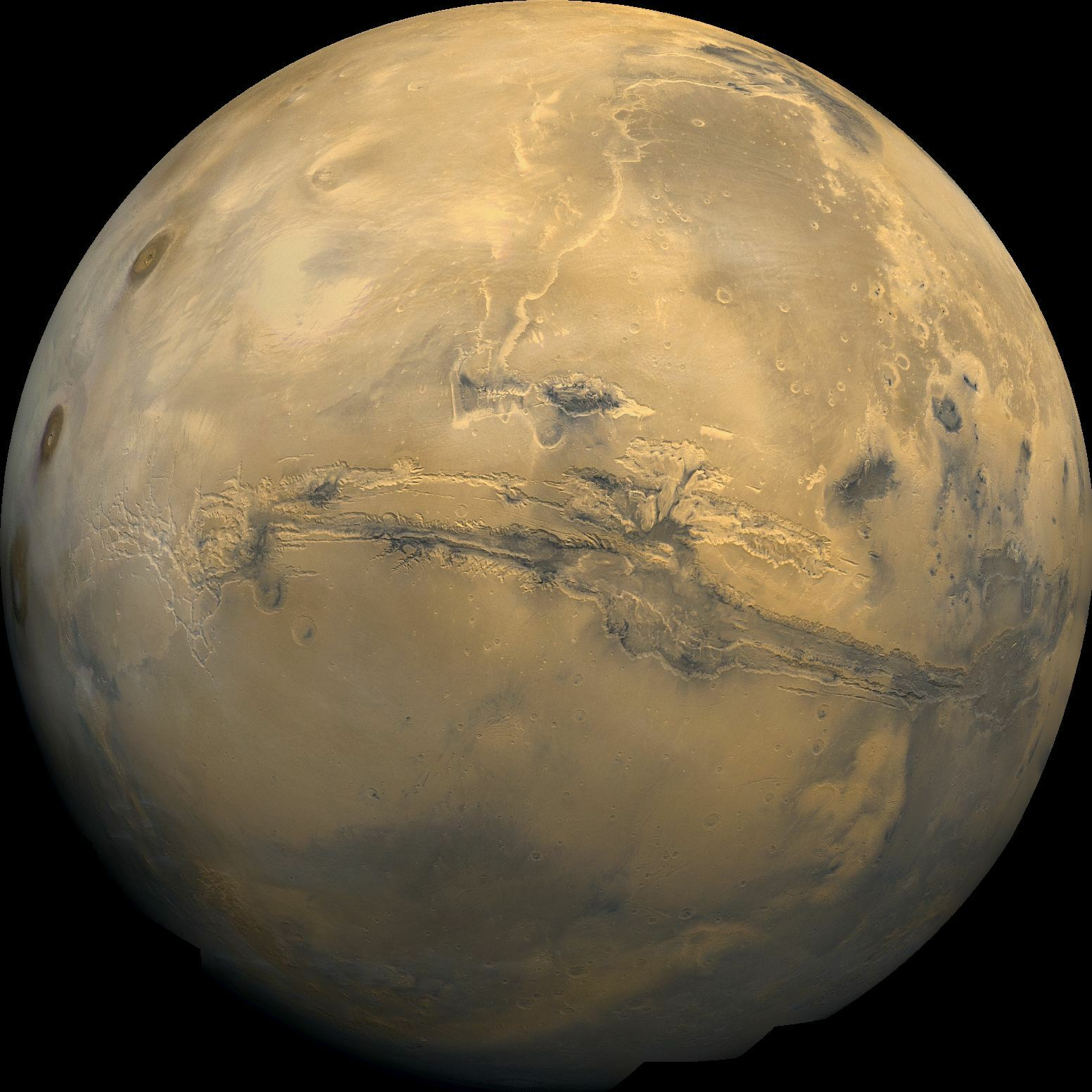 Wielka opozycja Marsa. Mars bardzo blisko Ziemi
