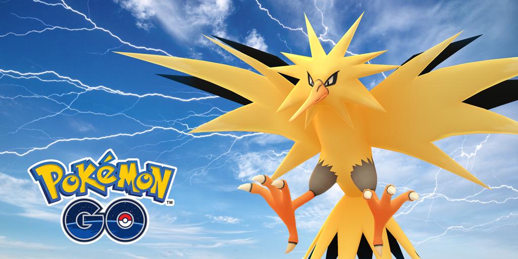 pokemon go zapdos day