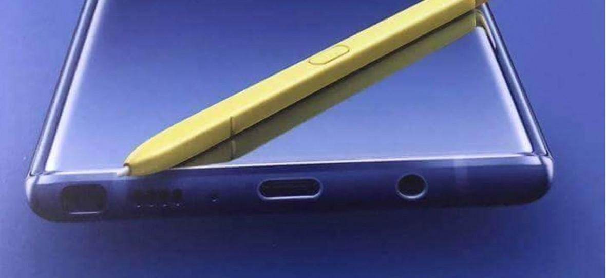 Wiemy, jak wygląda Samsung Galaxy Note9. Wyciekł plakat