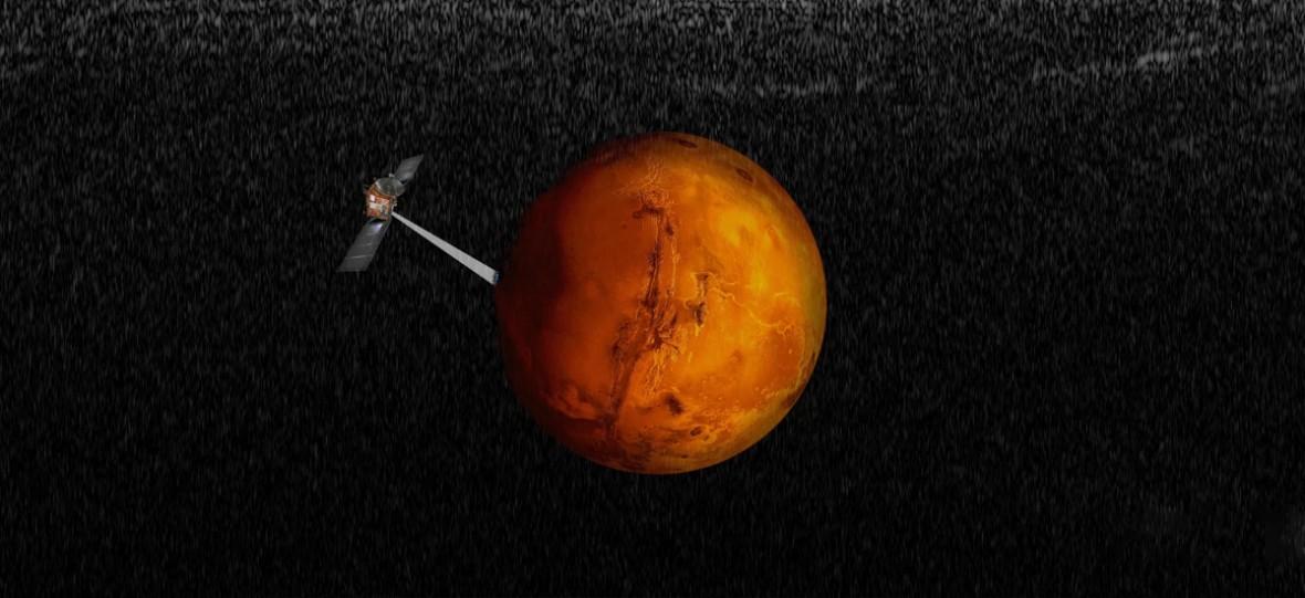 Naukowcy potwierdzili istnienie podziemnego jeziora na Marsie