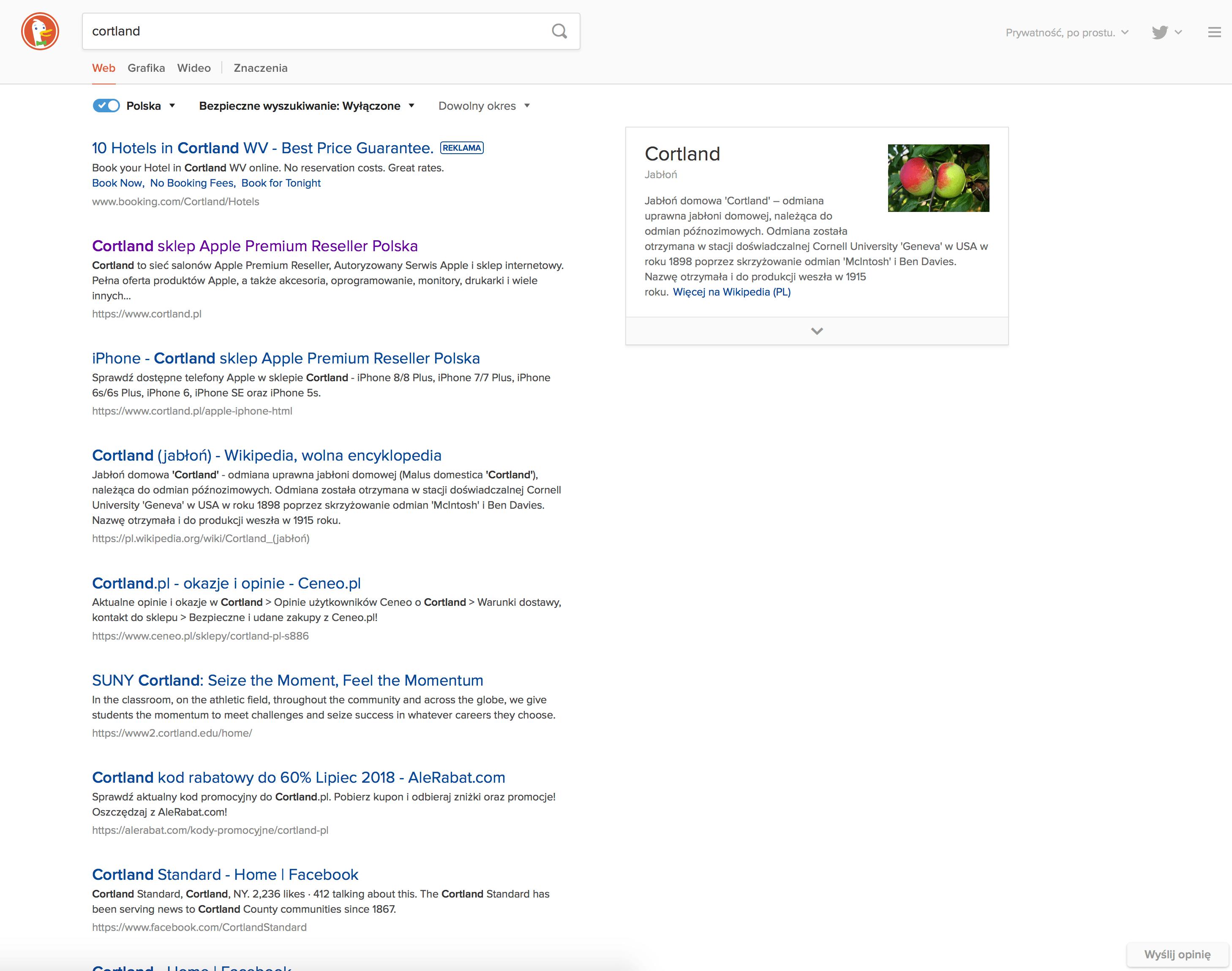 Google kontra DuckDuckGo: porównanie wyszukiwarek, wyniki