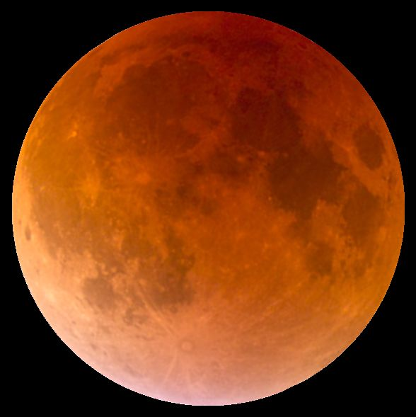 Całkowite zaćmienie Księżyca 2018 lipiec