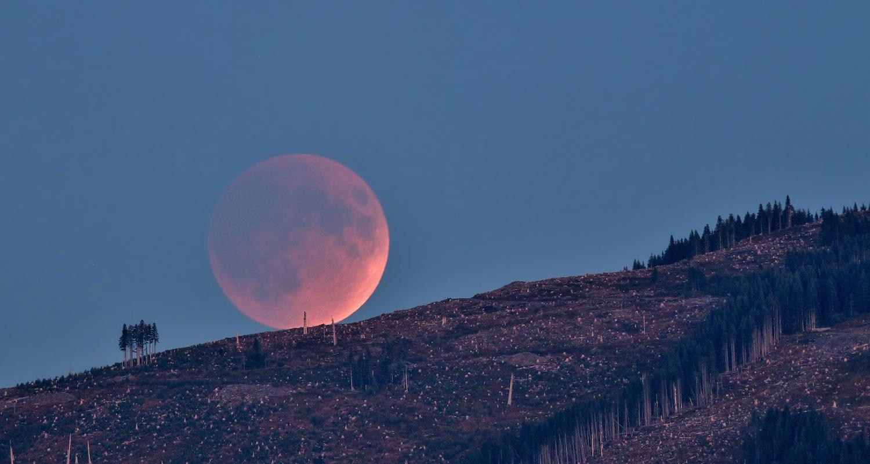 Całkowite zaćmienie Księżyca 2019 styczeń