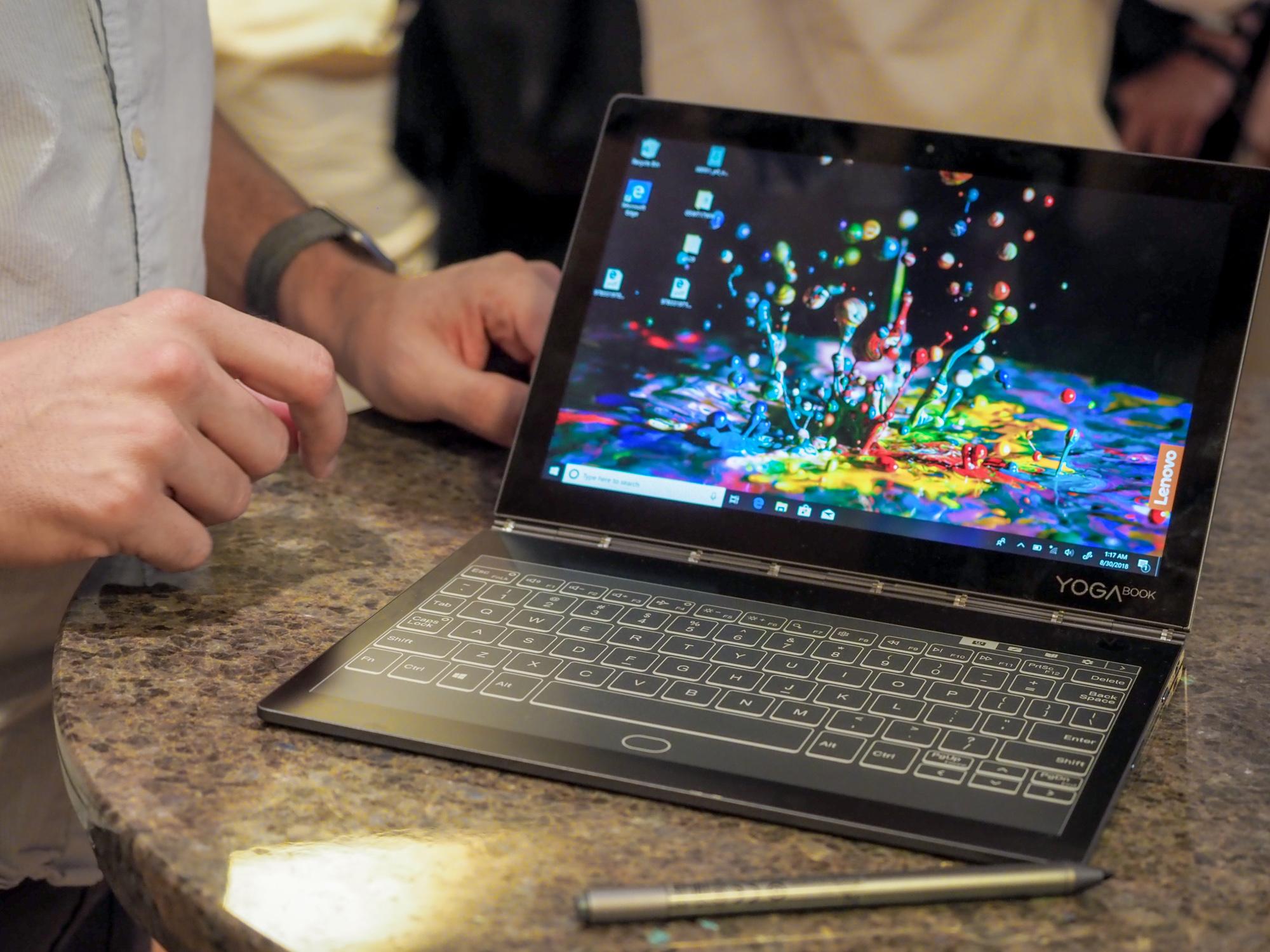 Lenovo Yoga Book C930 - tablet, laptop i czytnik e-booków w