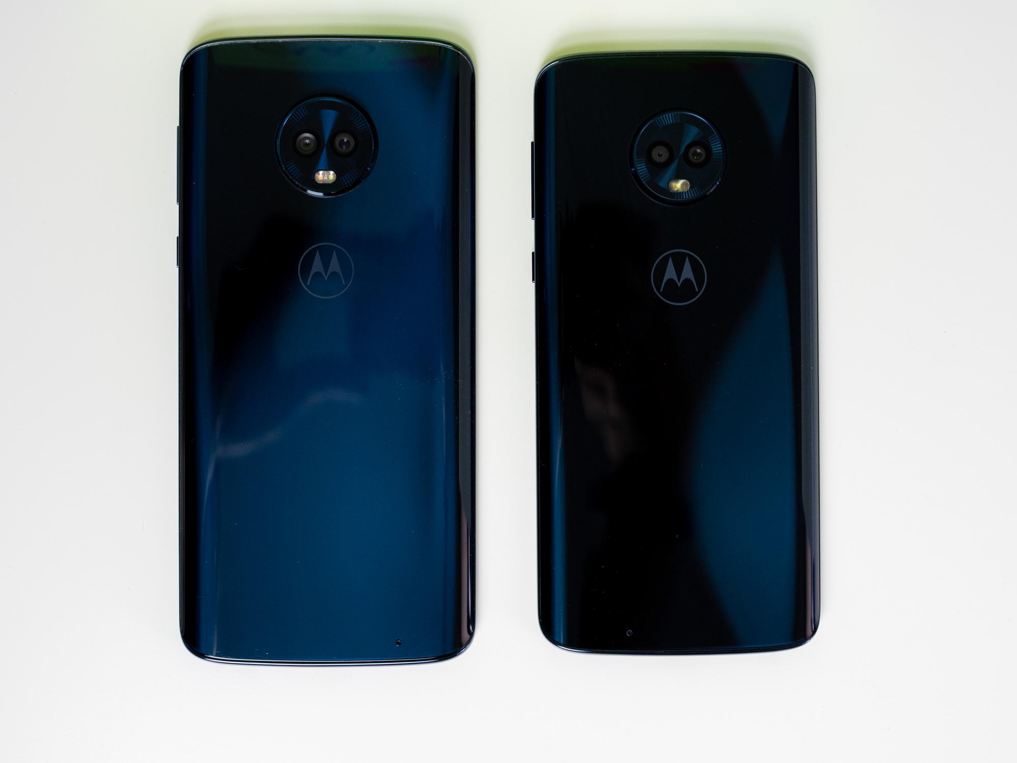 Motorola Moto G6 Plus kontra Moto G6