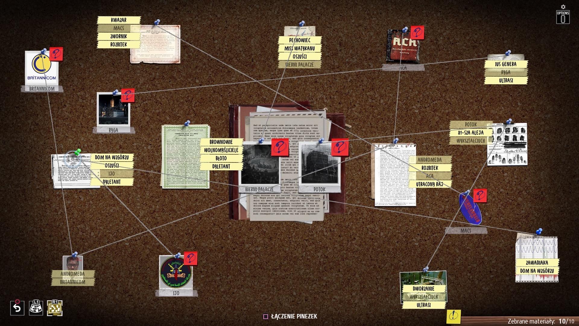 Phantom Doctrine dokumenty