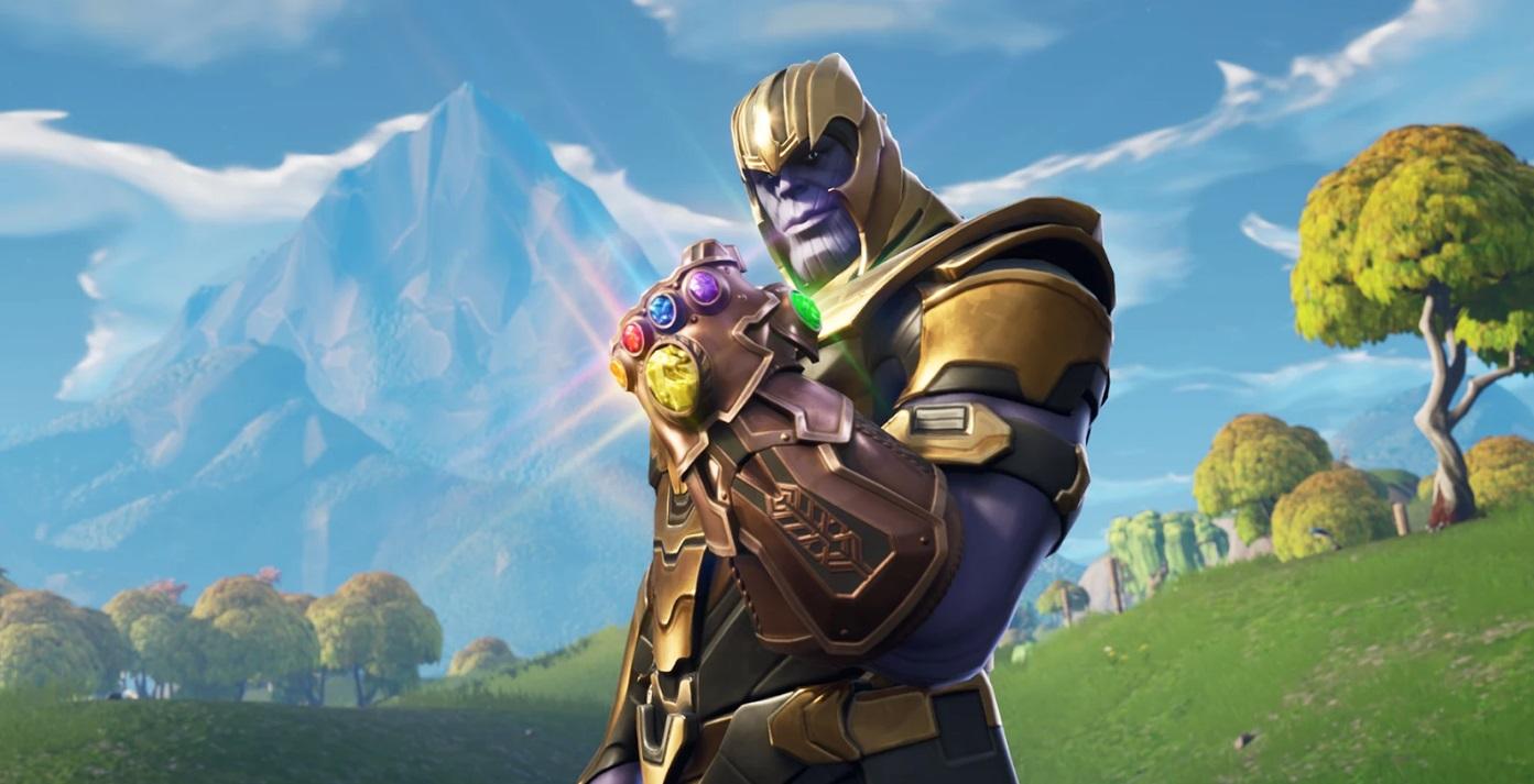 Thanos w Fortnite