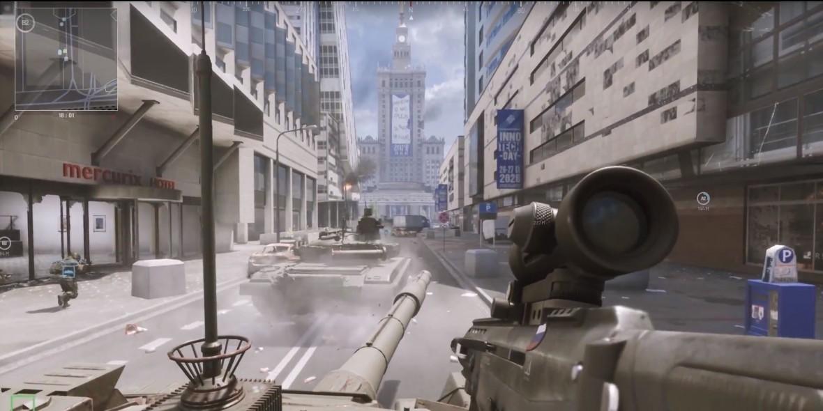 Polskie smaczki, rodzaje broni i warszawska mapa w ruchu. Przeanalizowaliśmy gameplay trailer World War 3