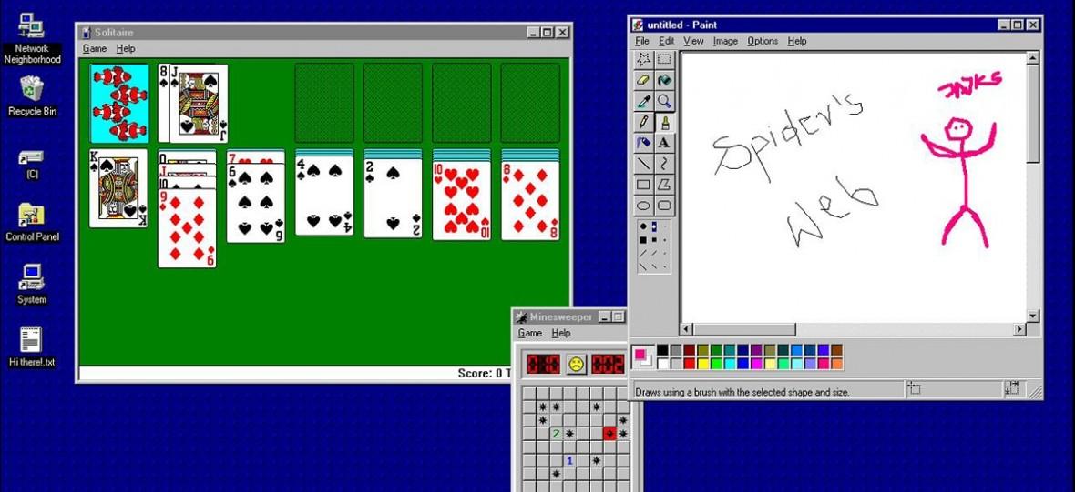 Windows 95 wrócił. Jako śmieszna aplikacja