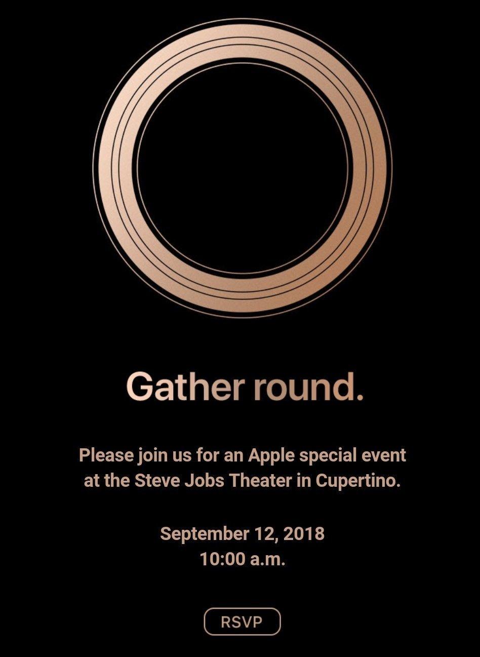 apple konferencja iphone xs 2018 12 września