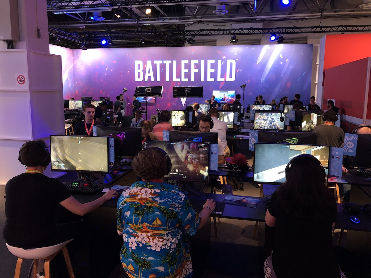 battlefield v gamescom 2018